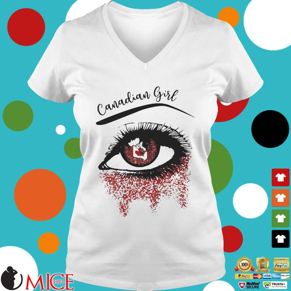 Eye canadian girl classic s t Ladies V-Neck