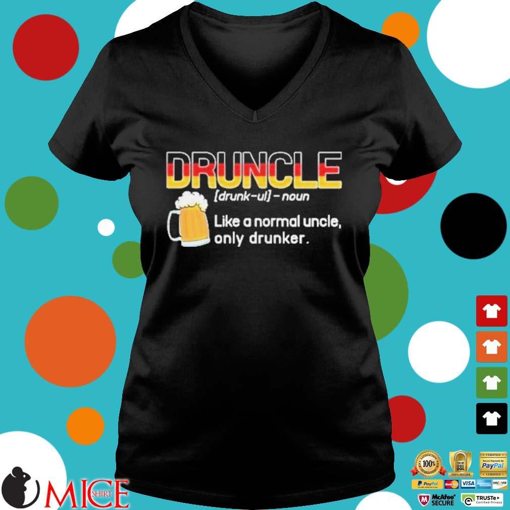 Germany druncle noun like a normal uncle only drunker beer s d Ladies V-Neck