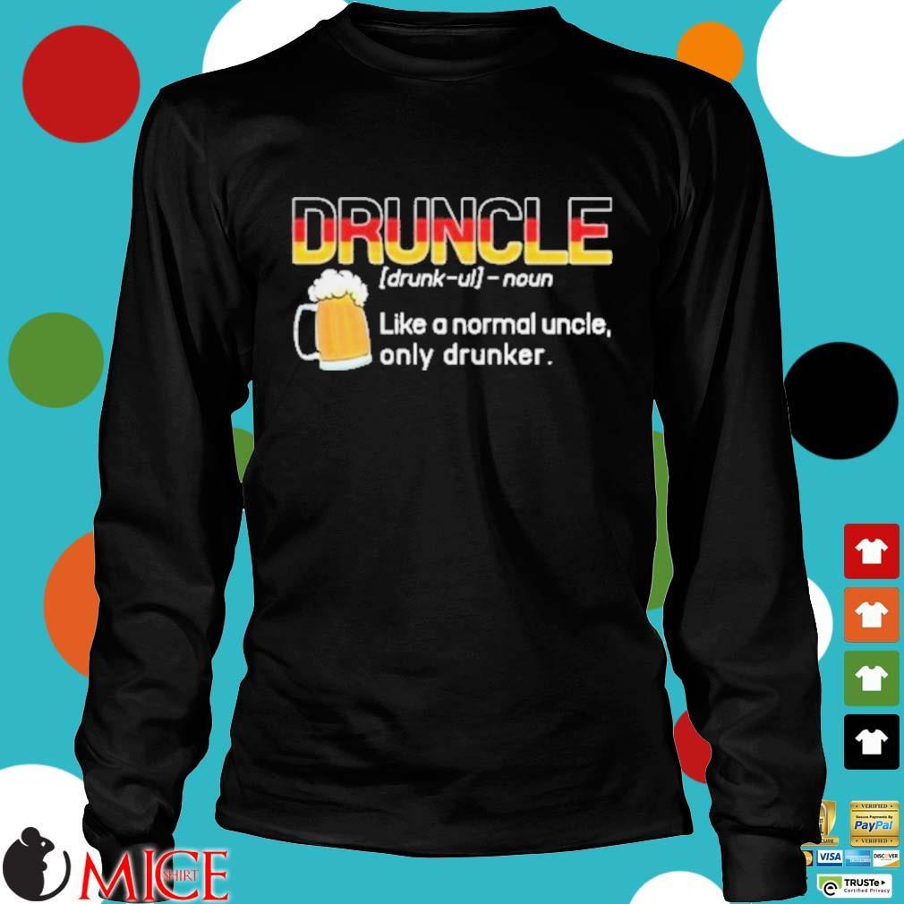 Germany druncle noun like a normal uncle only drunker beer s d Longsleeve