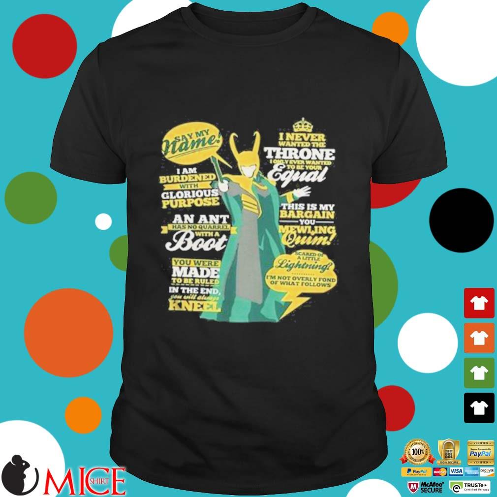 I Never Wnted The Throne Boot Equal Women shirt