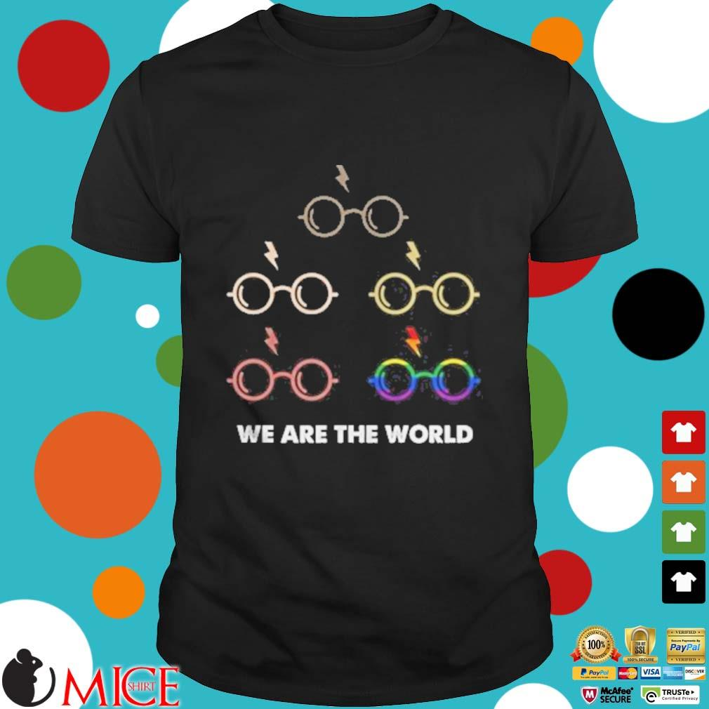 Lgbt harry potter we are the world shirt