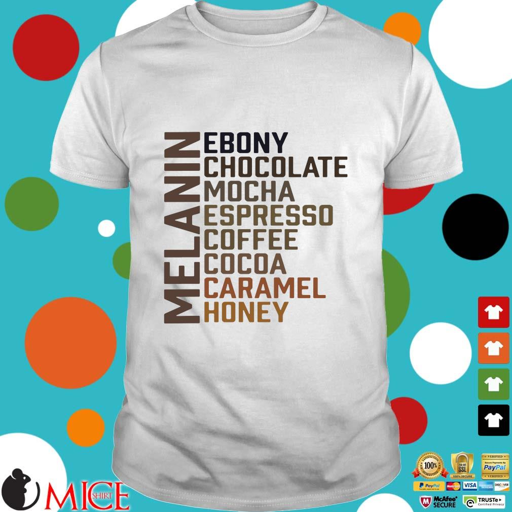 Melanin Ebony Chocolate Mocha Espresso Coffee Cocoa Caramel Honey Hoodie