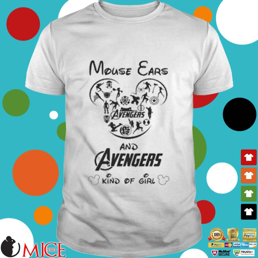 Mouse Ears And Avengers Kind Of Girl Shirt