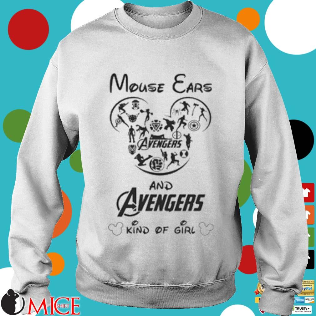 Mouse Ears And Avengers Kind Of Girl Shirt t Sweater