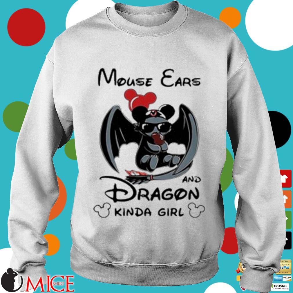 Mouse Ears And Dragon Kinda Girl Shirt t Sweater