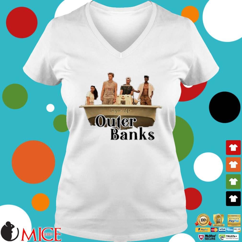 Pogue Life Outer Banks Shirt t Ladies V-Neck