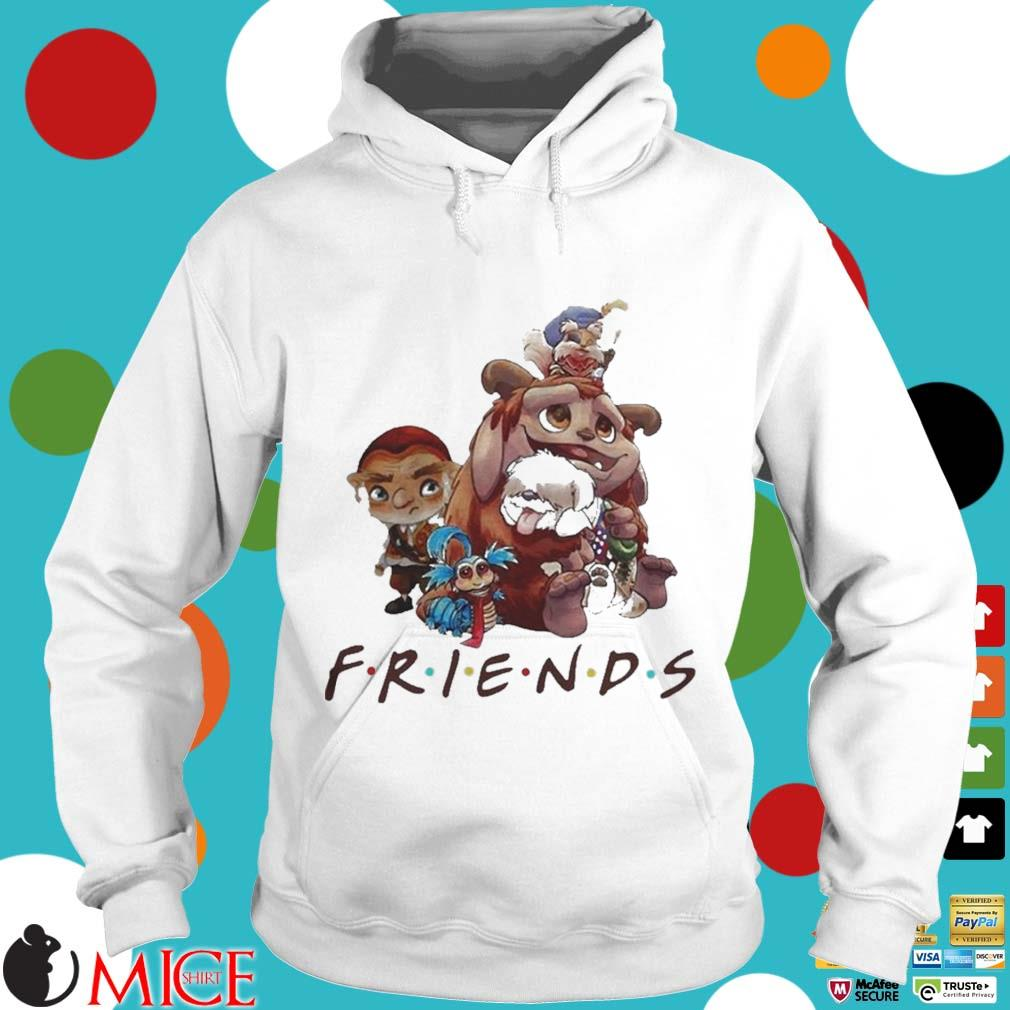 Pretty labyrinth characters friends s t Hoodie