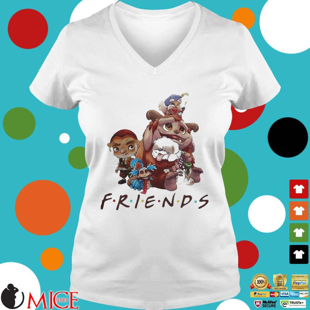 Pretty labyrinth characters friends s t Ladies V-Neck