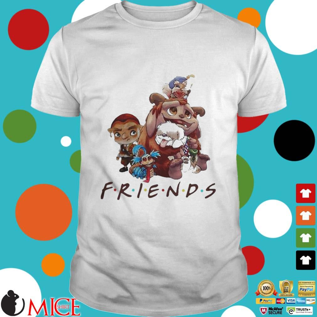 Pretty labyrinth characters friends shirt