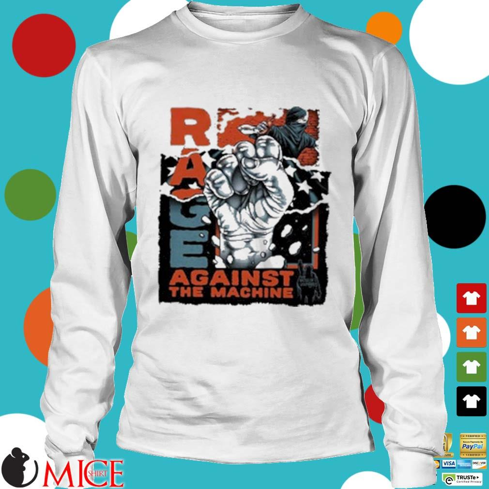 Rage Against The Machine Black Lives Matter Shirt t Longsleeve