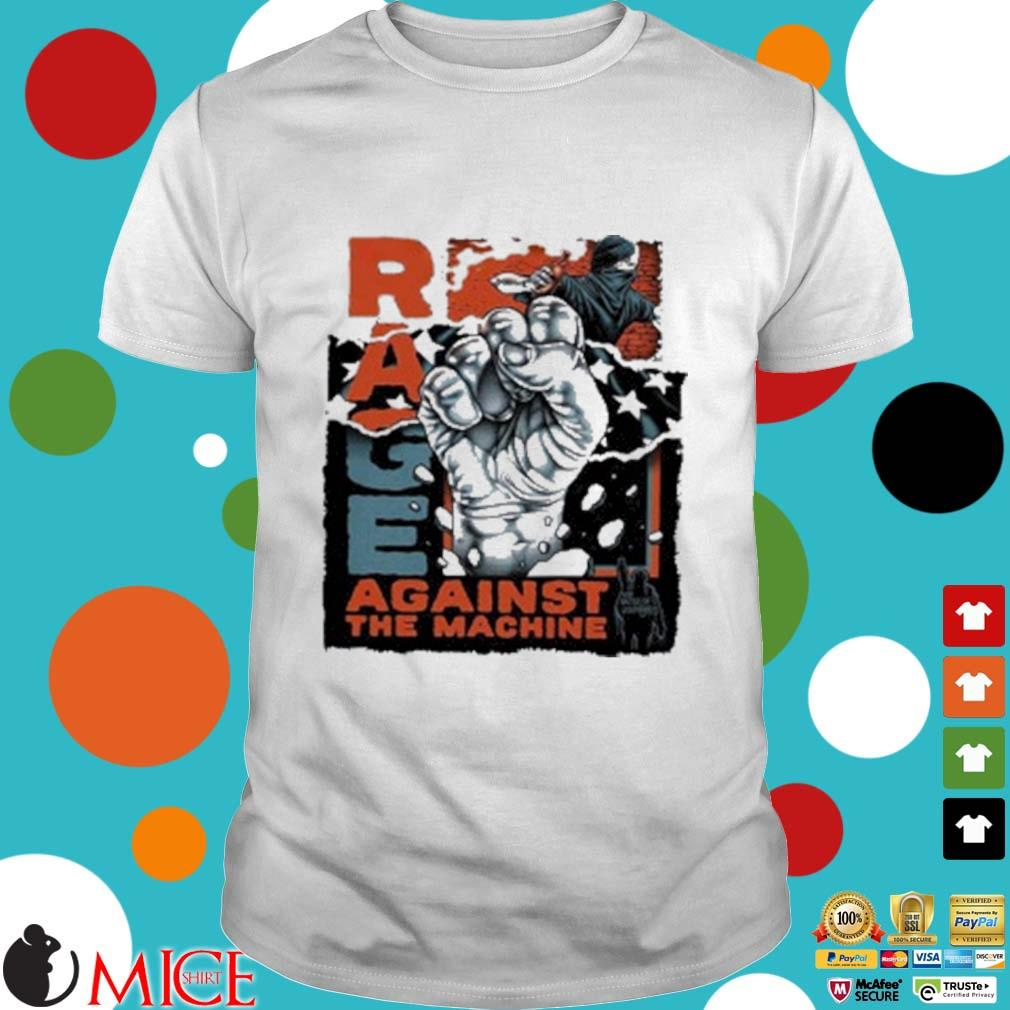 Rage Against The Machine Black Lives Matter Shirt