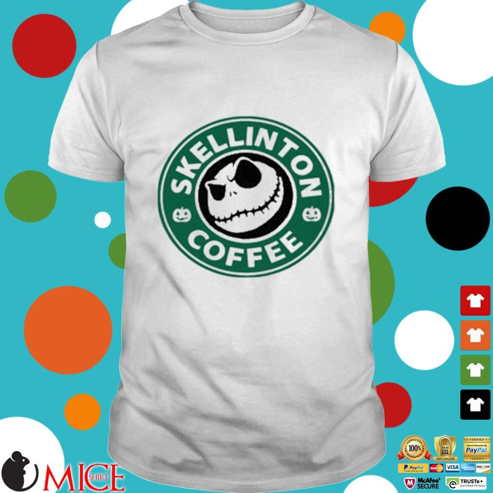 Skellington Coffee Shirt