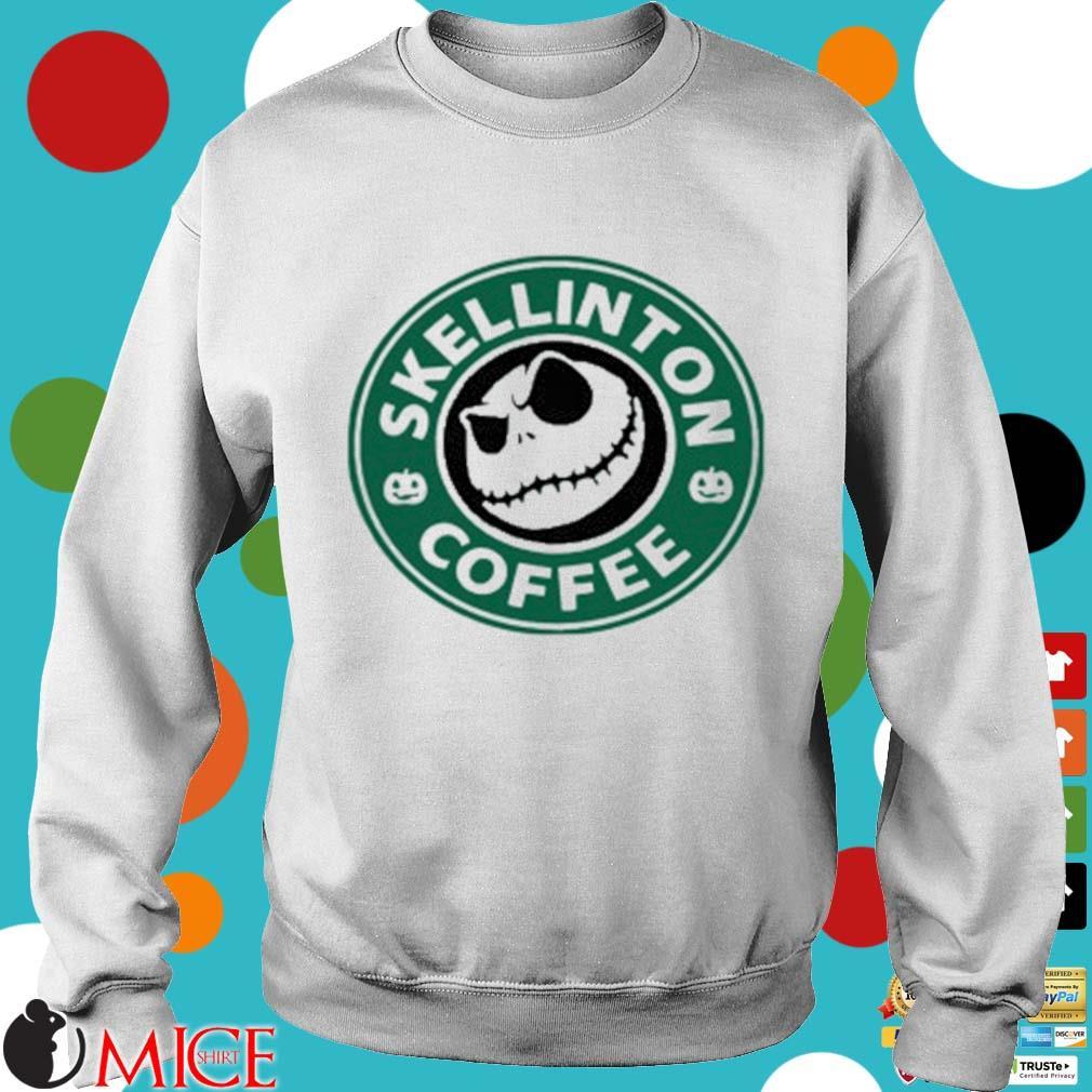 Skellington Coffee Shirt t Sweater