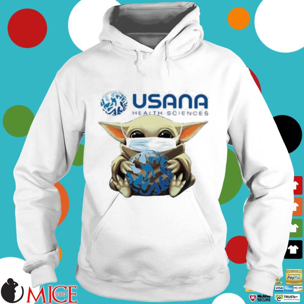 Star Wars Baby Yoda Mask Hug Usana Health Sciences Shirt t Hoodie