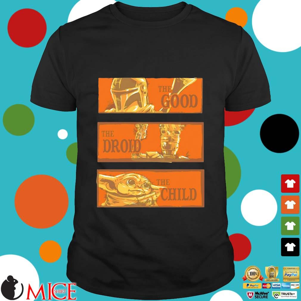 Star Wars The Good The Droid The Child Shirt