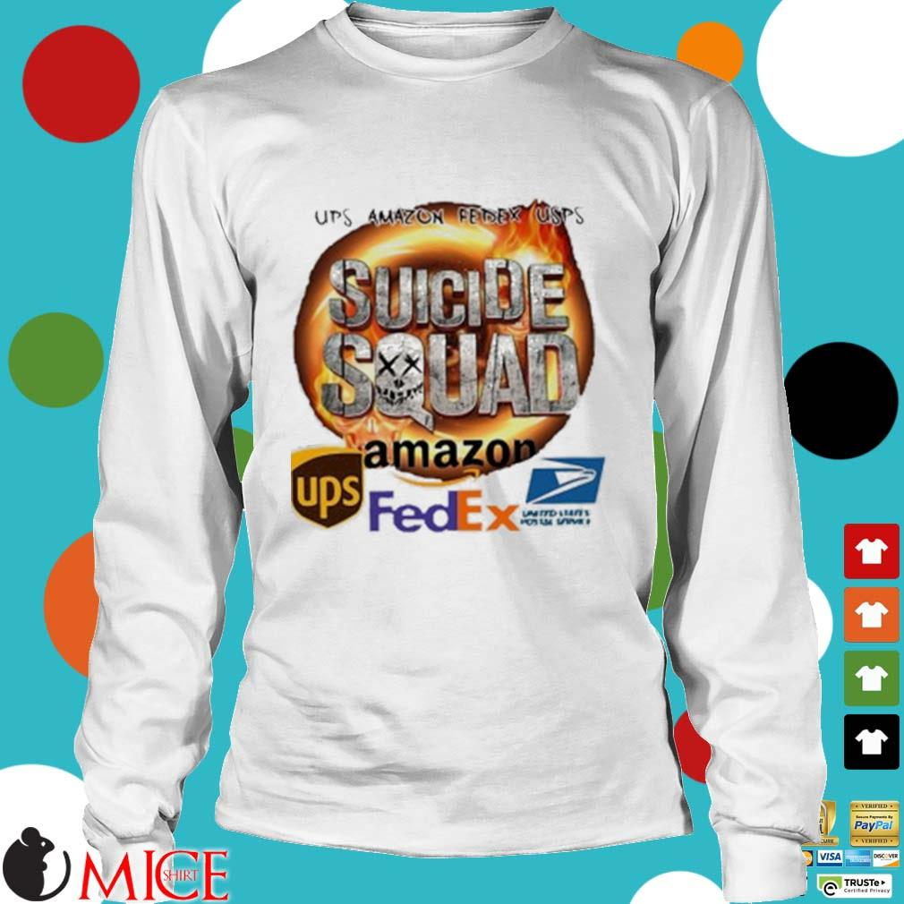 Ups Amazon Fedex Usps Suicide Squad Amazon Ups Fedex Shirt t Longsleeve