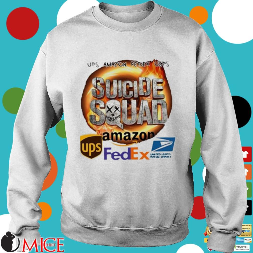 Ups Amazon Fedex Usps Suicide Squad Amazon Ups Fedex Shirt t Sweater