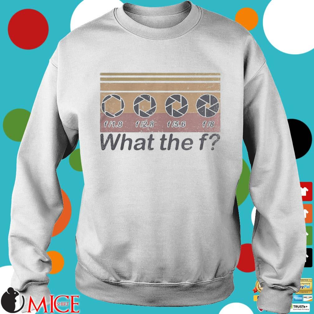 What the f photographer vintage s t Sweater