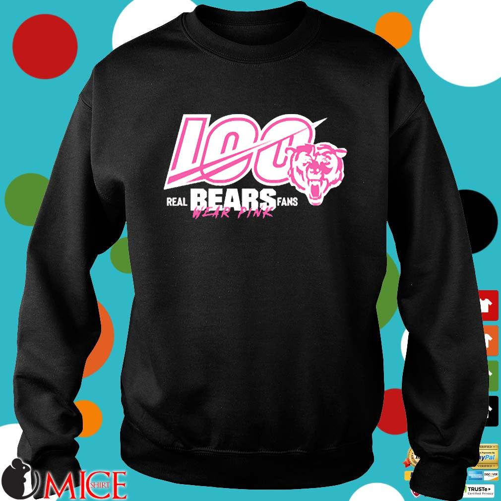 100 Years Of Bears Real Bears Fans Wear Pink Shirt Sweater den