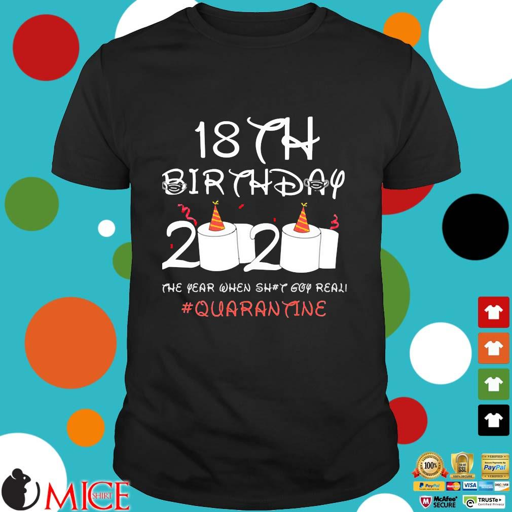 18th Birthday Quarantine Shirt