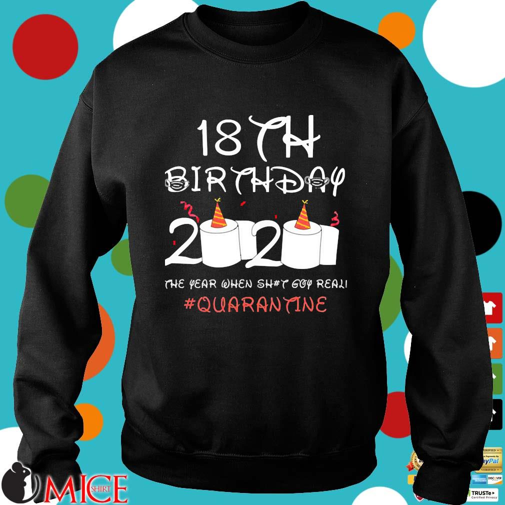 18th Birthday Quarantine Shirt Sweater den
