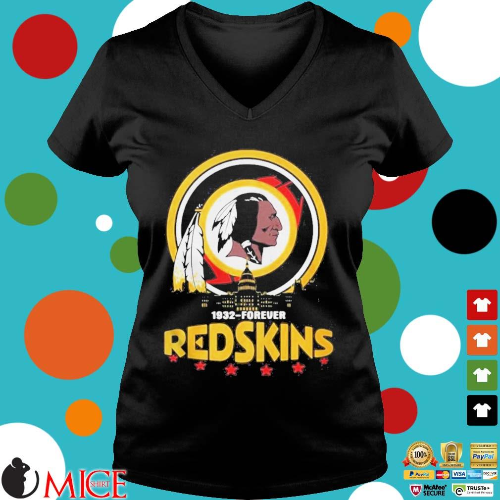 1932 Forever Redskins Shirt d Ladies V-Neck