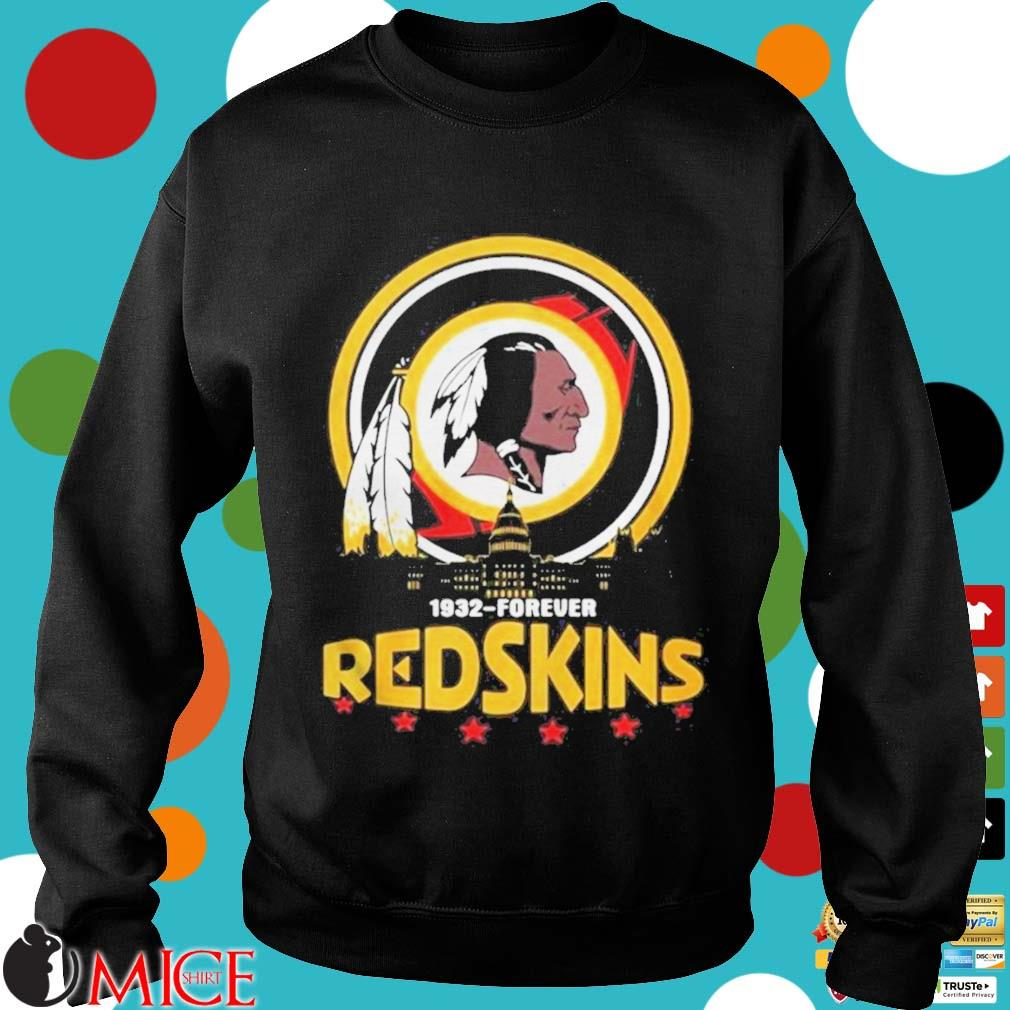 1932 Forever Redskins Shirt d Sweater