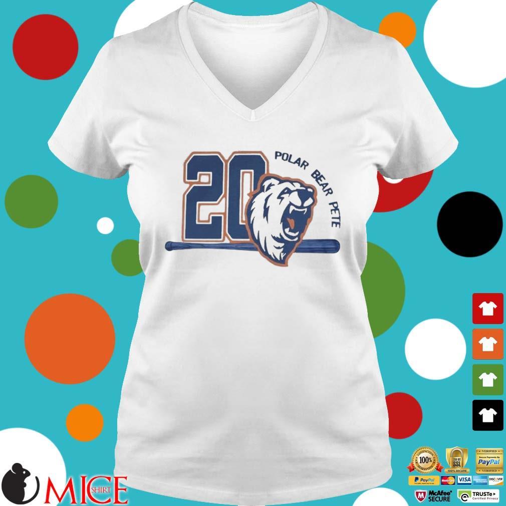 20 Polar Bear Pete Tee Shirt t Ladies V-Neck