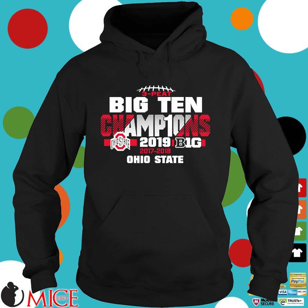 2019 Big Ten Football Champions Ohio State Buckeyes s Hoodie dend