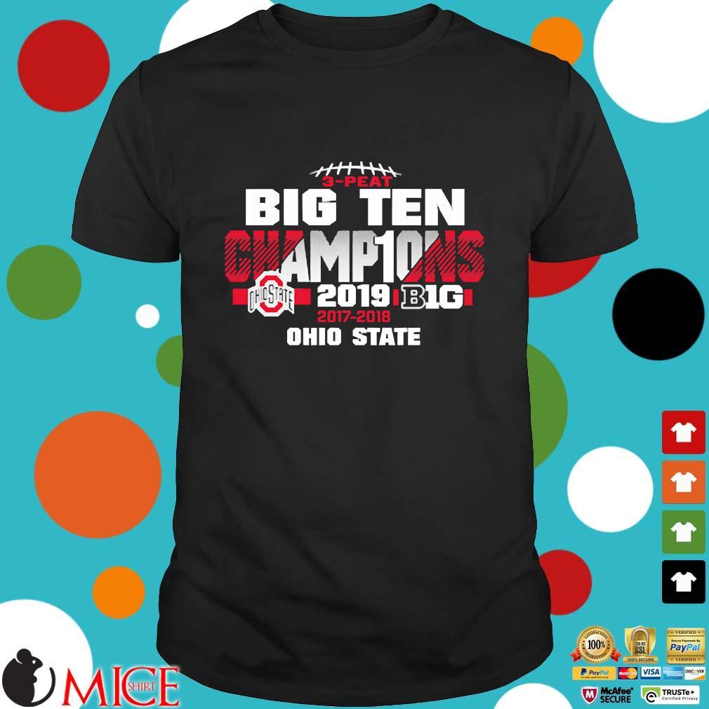 2019 Big Ten Football Champions Ohio State Buckeyes shirt