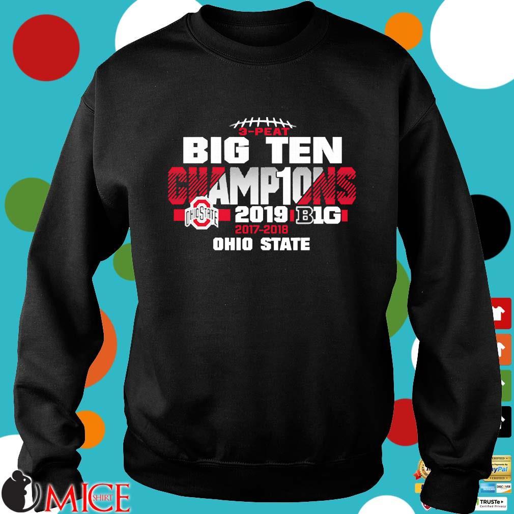 2019 Big Ten Football Champions Ohio State Buckeyes s Sweater den