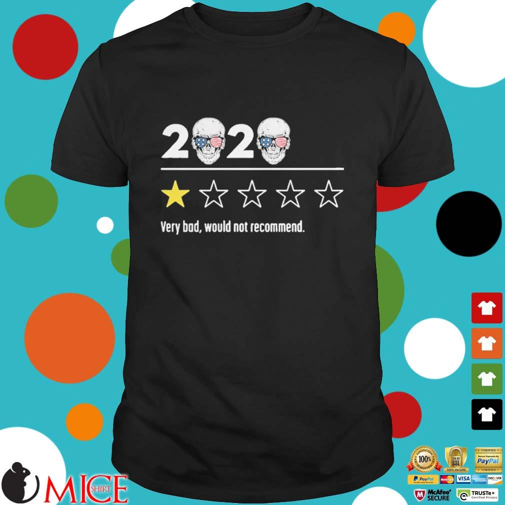2020 skull glasses independence day very bad would not recommend shirt
