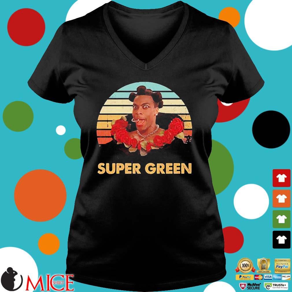Ruby Rhod super green vintage s Ladies V-Neck den