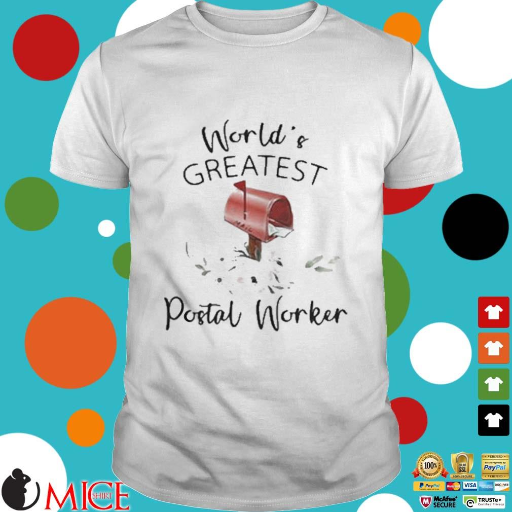 World's Greatest Postal Worker Mailbox Shirt