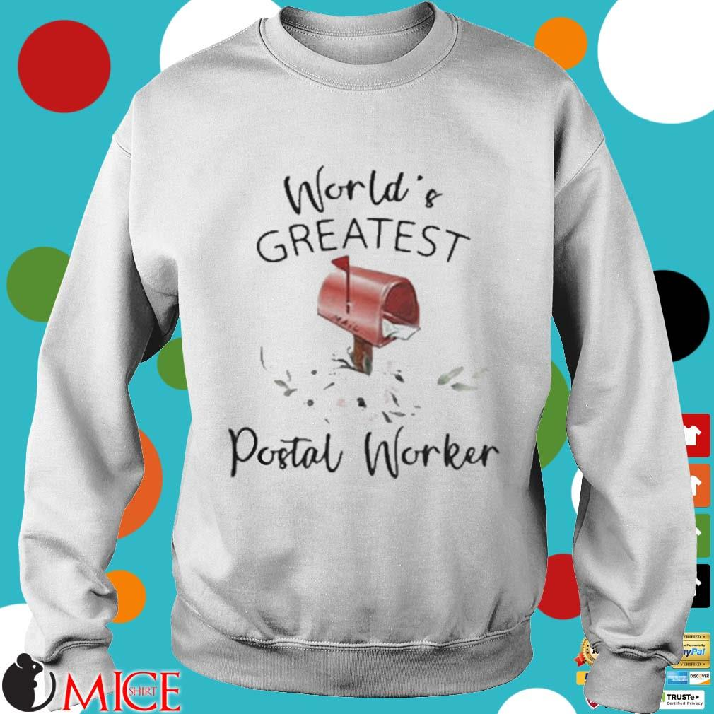 World's Greatest Postal Worker Mailbox Shirt t Sweater
