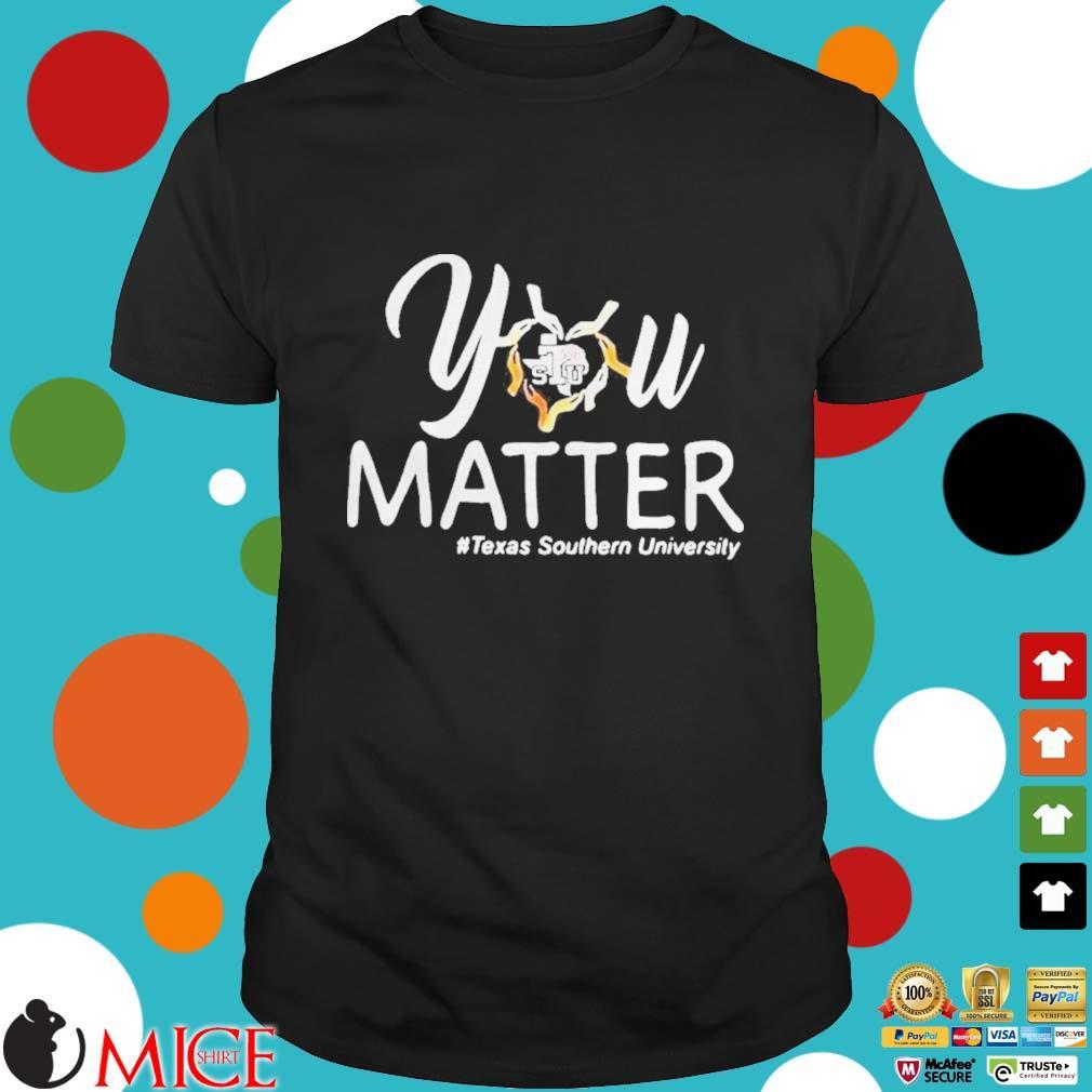 You heart stu matter texas southern university shirt
