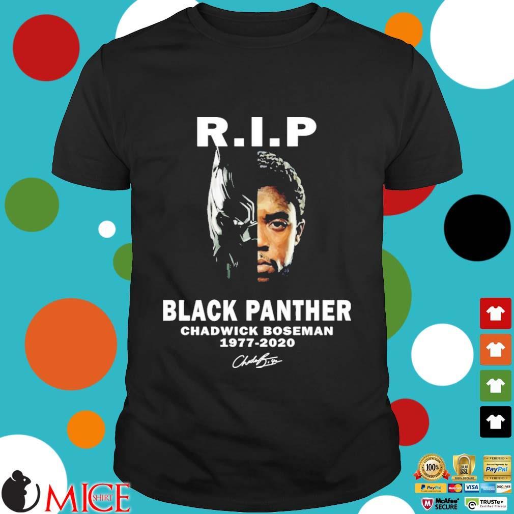 R.I.P Chadwick Boseman (Black Panther) 1977 – 2020 Shirt