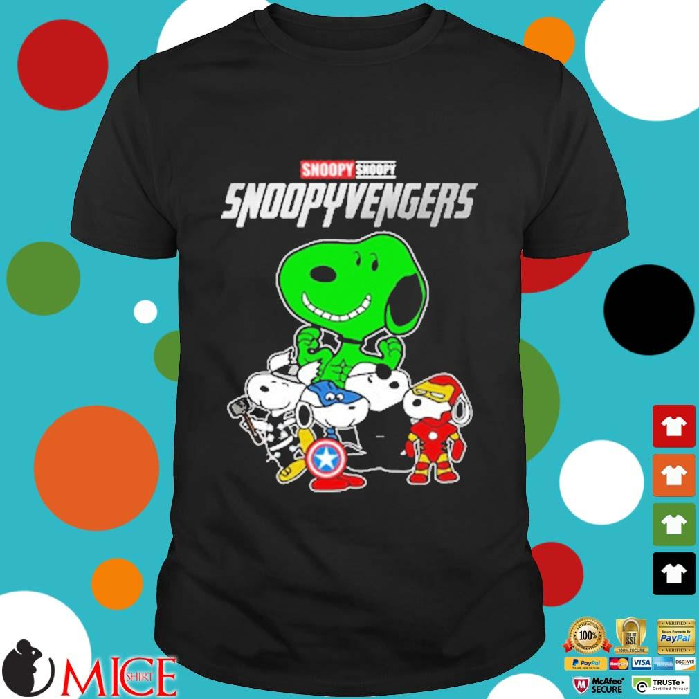 Snoopy Snoopyvengers Avengers shirt