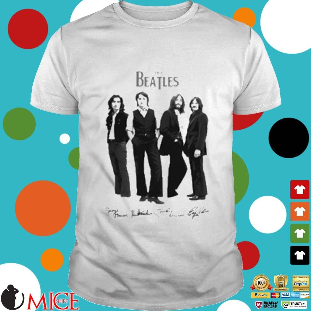 The beatles band members art shirt