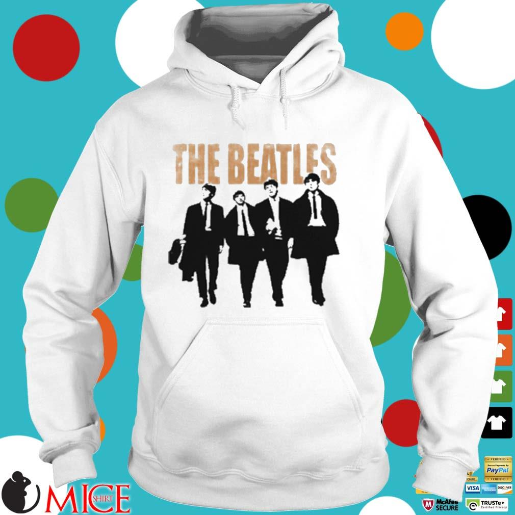The Beatles Band Members Art T-Shirt Hoodie trang