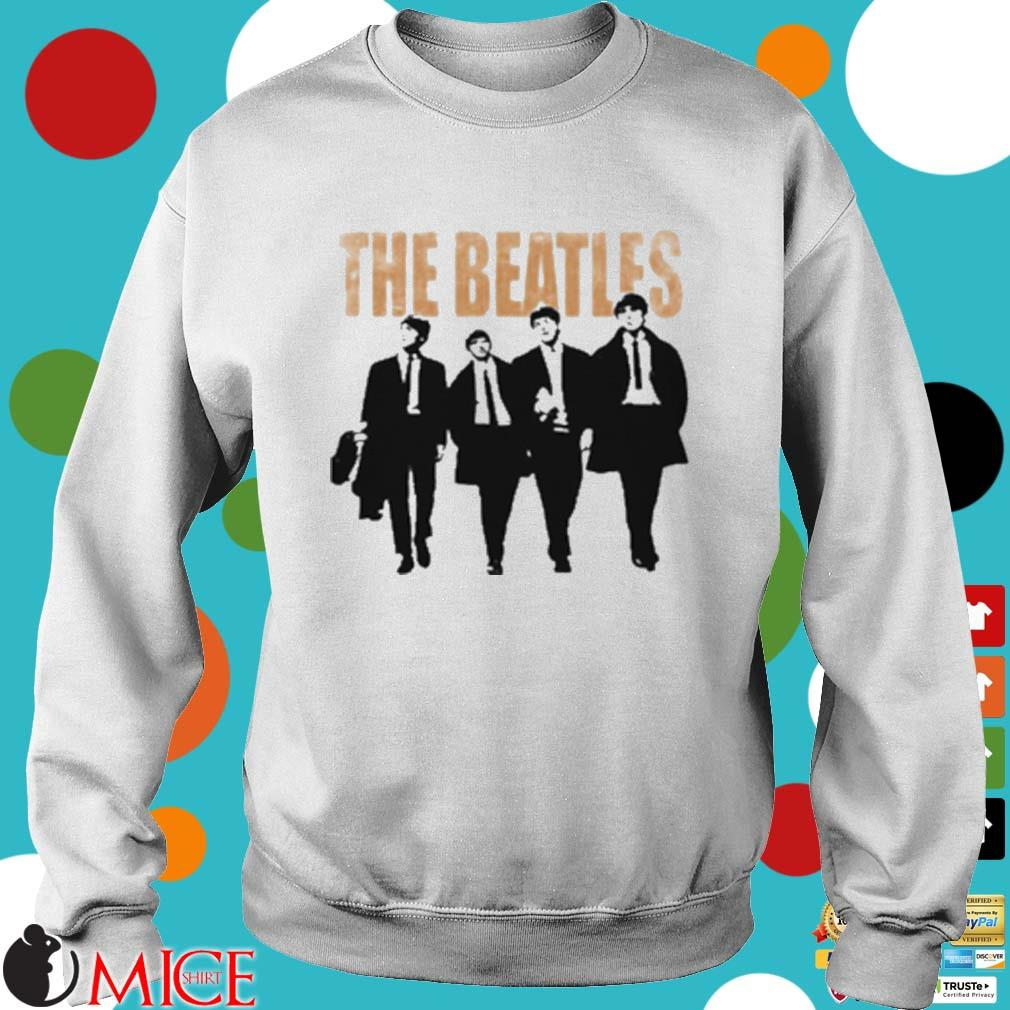 The Beatles Band Members Art T-Shirt Sweater trang