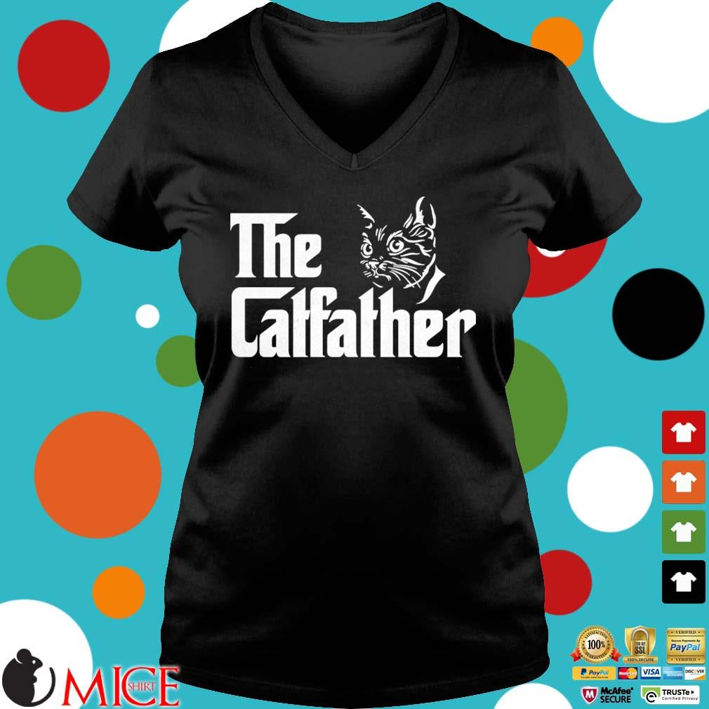 The catfather s Ladies V-Neck den