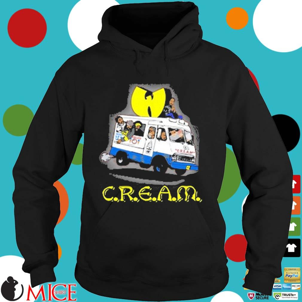 Wutang Brand Limited Ice Cream Truck T-Shirt Hoodie dend