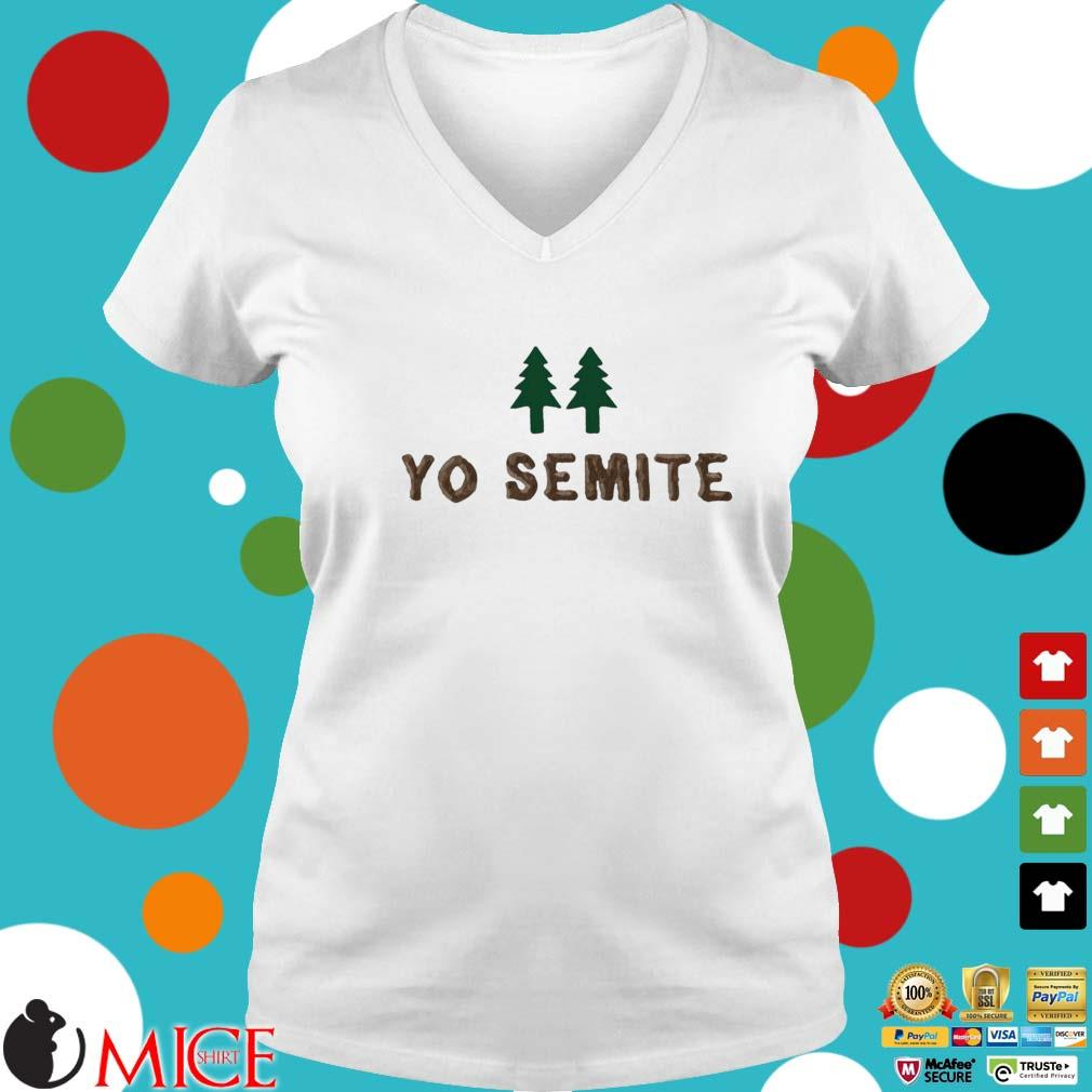 Yo Semite Jewish s Ladies V-Neck trangs