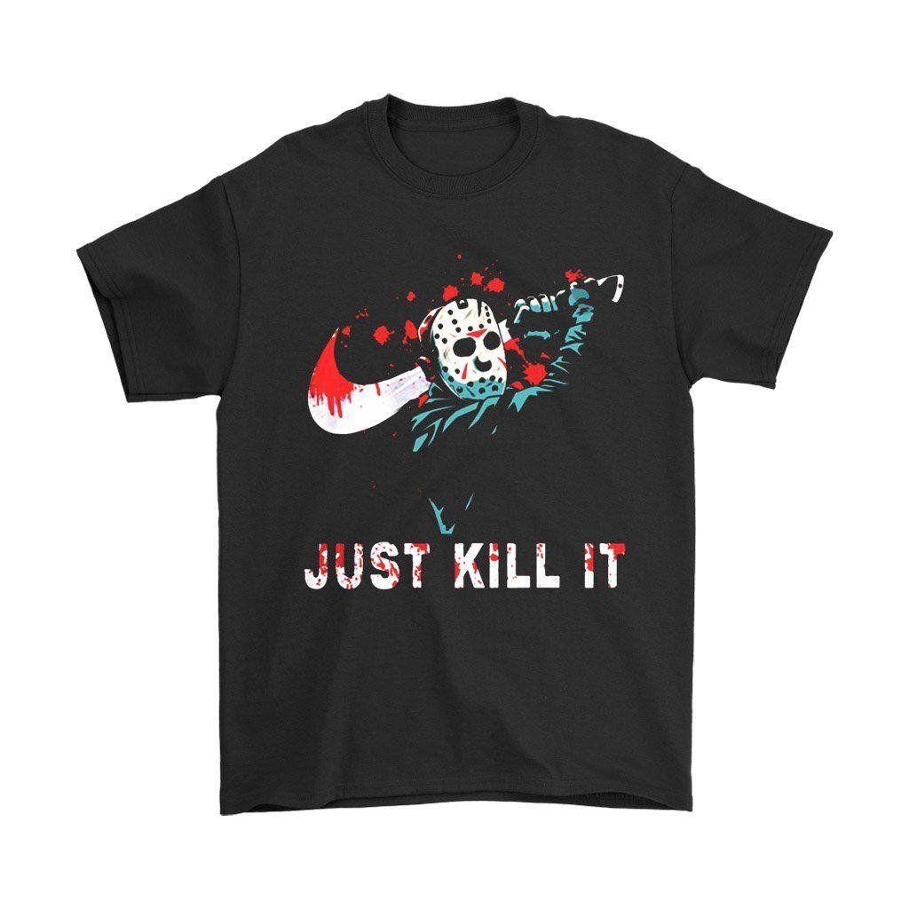 Official Jason Voorhees Just kill It Halloween T-Shirt