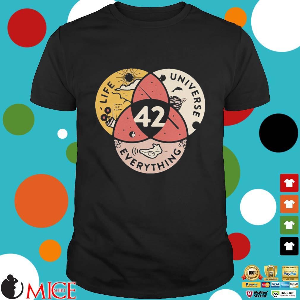 42 life universe everything shirt