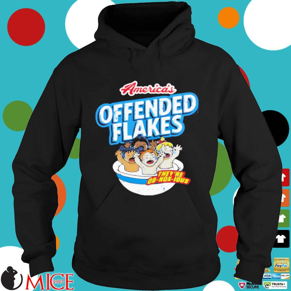 America's offended flakes they're Ob Nox Lous s Hoodie dend