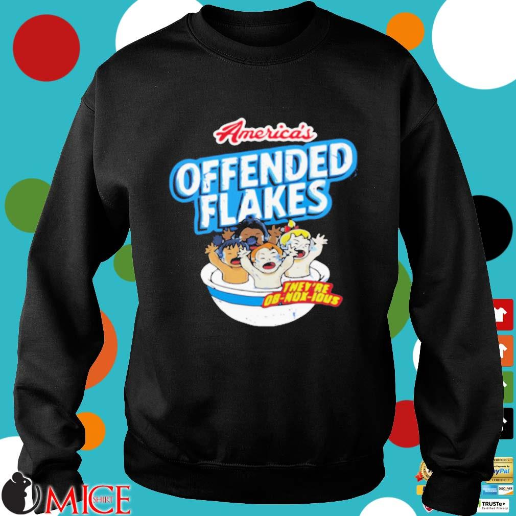 America's offended flakes they're Ob Nox Lous s Sweater den