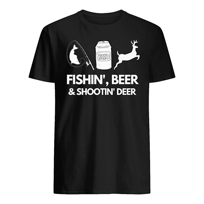 Fishin' Beer And shootin' Deer 2020 Shirt