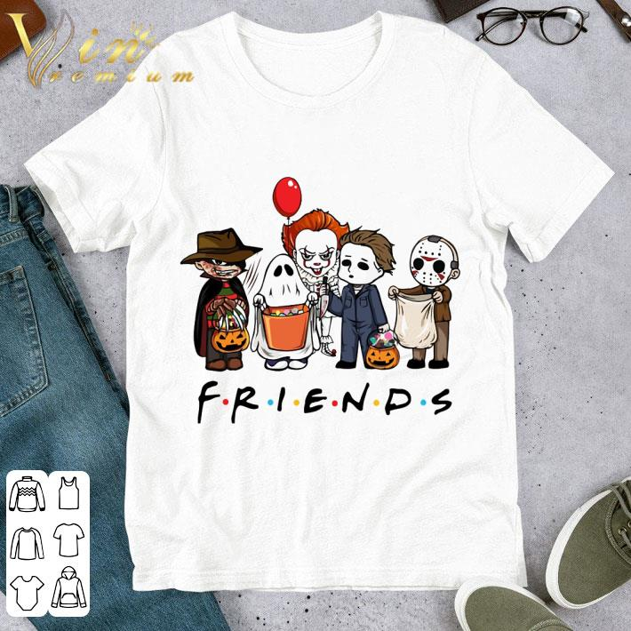 Friends mashup horror characters halloween 2020 Shirt